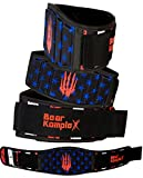 Bear KompleX 6' Strength Weightlifting Belt for at-Home Workouts, Durable, Easily Adjustable, Low Profile with Super Firm Back for Support During Powerlifting, Cross Training, Squats, Weights