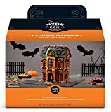 Halloween Haunted Mansion Chocolate Cookie House Kit 32.6 Oz! Halloween Ginger Bread House! Pre-Baked, Easy To Assemble And Ready To Build! Halloween House For Kids To Enjoy Decorating Their Own!