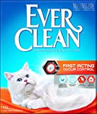 Ever Clean Lettiera con Controllo Antiodore ad Azione Rapida, 10.Litri, Profumata...