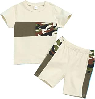 Toddler Baby Boy Girl Fashion Clothes Short Sleeve...