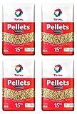 4 Stück Total Premium Pellets je 15 kg