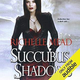 Succubus Shadows audiobook cover art