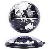 JJYY Globo terráqueo levitante LED Negro de 6'para decoración de oficinas y Regalos para niños