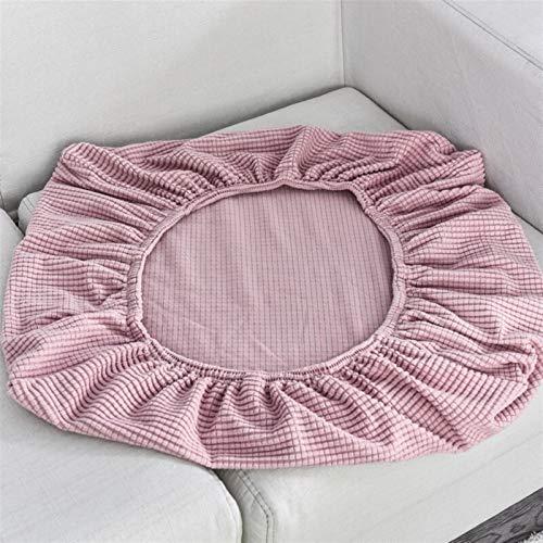 kengbi Funda de cojín duradera y fácil de limpiar para sofá, funda de cojín para silla y mascotas, protector de muebles de forro polar elástico, lavable, funda extraíble para asiento de 1/2/3/4