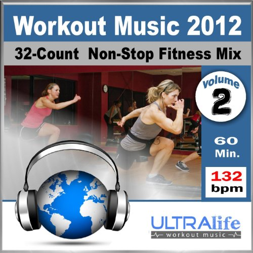 Workout Music 2012 Vol.2 - Top New Fitness Re-Mix for Group Exercise, Running, Kickboxing & Cardio (132 BPM) [Non-Stop]