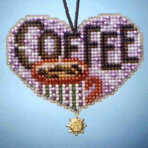 Mill Hill Love Coffee Cross Stitch Kit