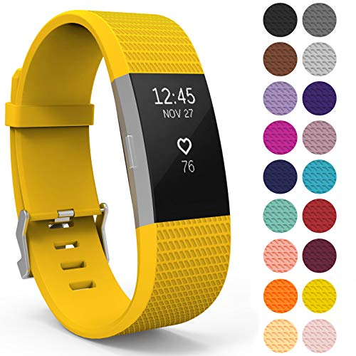 Yousave Accessories® Correa Fitbit Charge2, Pulsera Deporti