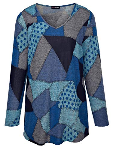 MIAMODA Pullover Marineblau