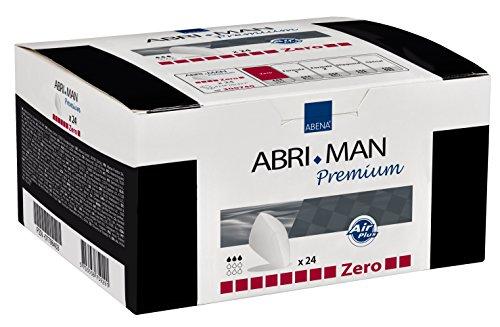Abena Abri-Man Male Pouch Incontinence Pads, Zero, 24 Count