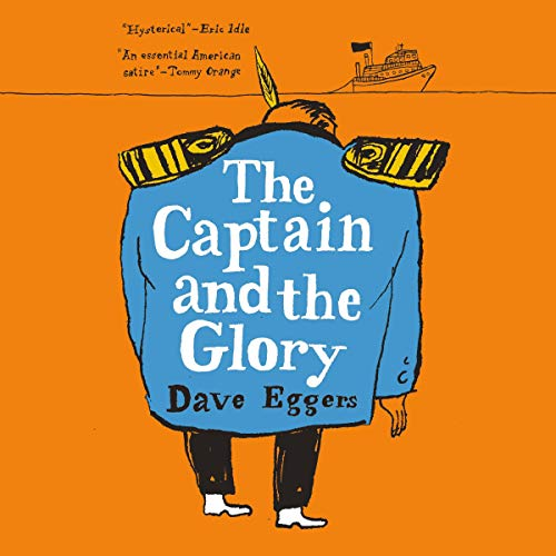 The Captain and the Glory audiobook cover art