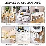 uyoyous Tischdecke Tischfolie Schutzfolie Tischschutz PVC Folie TransparentTischschutzfolie, 90 x190 cm, 2mm dick, Tischdecken Wasserdicht für Garten/Esszimmer/Büro - 7