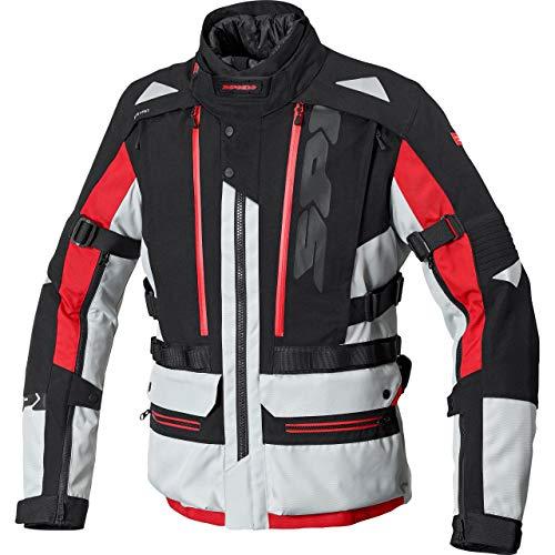 Spidi H2Out Allroad Veste textile de moto Noir/Gris/Rouge