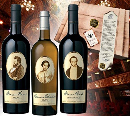 Wein Geschenk-Set Baron Philippe de Rothschild