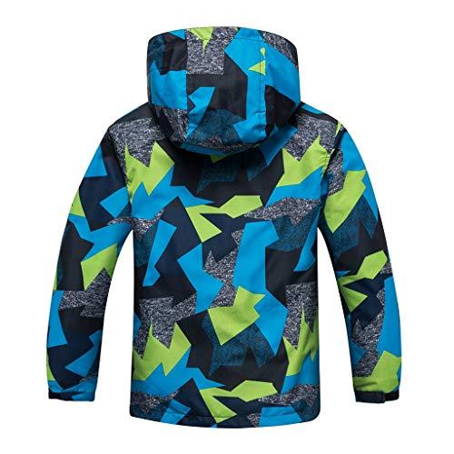 Allence Chaqueta con capucha para bebé, primavera, otoño, invierno, unisex, chaqueta con capucha, multicolor, S