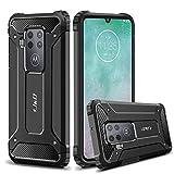 J&D Case Compatible for Motorola One Zoom Case, Heavy Duty