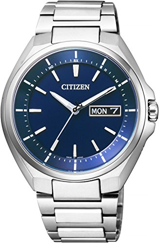 [シチズン]CITIZEN 腕時計 ATTESA アテッサ Eco-Drive エコ・ドライブ 電波時計 デイデイト表示 AT6050-54L メンズ
