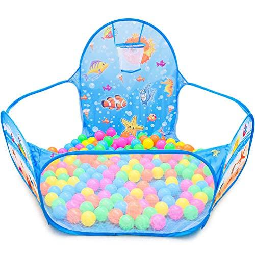 Shuang Kinder bällebad pop,Unterwasser World Ocean Ball Pool, faltbares Indoor-Kinderzelt (Geschenk 50 Ocean Balls)