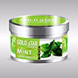 GOLDSTAR Herbal Non Tobacco Smoke Mint Flavor Premium Hookah 200 gm
