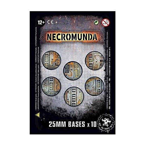 Necromunda++Socles+25+mm+x10