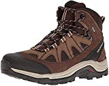 Salomon Men's Authentic Leather & GORE-TEX Backpacking Boots,...