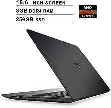 Dell 2019 Premium Inspiron 15 500015.6 Inch FHD 1080P Laptop, AMD Ryzen 5 2500U up to 3.6 GHz, AMD Radeon Vega8, 8GB DDR4 RAM, 256GB SSD, HDMI, Bluetooth, WiFi, Windows 10,Black