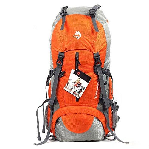 50L sac à dos sac de sport en nylon sac d'alpinisme en plein air ultraléger randonnée en plein air sacs à bandoulière de mode