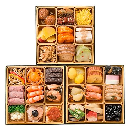 正直屋 和洋中おせち 三段重 「吉祥」 全37品 おせち料理 12/30日着 冷凍