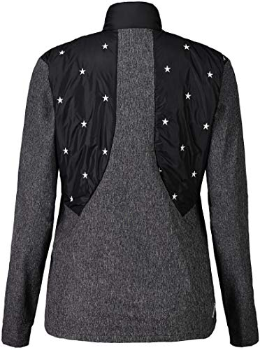 Maloja Seliam. Chaquetas Impermeables, Mujer, Moonless, S