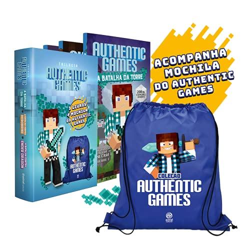 Trilogia Authenticgames com mochila