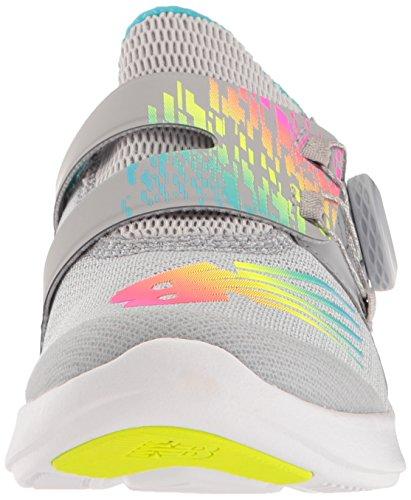 New Balance - Unisexe Enfant KJBKO Chaussures, 32.5 EUR, Silver Mink/Multi