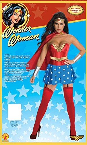 DC Comics Talla XS adulto Disfraz de Wonder Woman para mujer Rubies 888439-XS