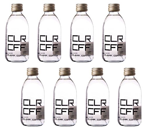 Clear Coffee: First Colorless Coffee Drink In The World - 6.7 Fluid Ounce (200ml) Glass Bottle (Pack of 8)