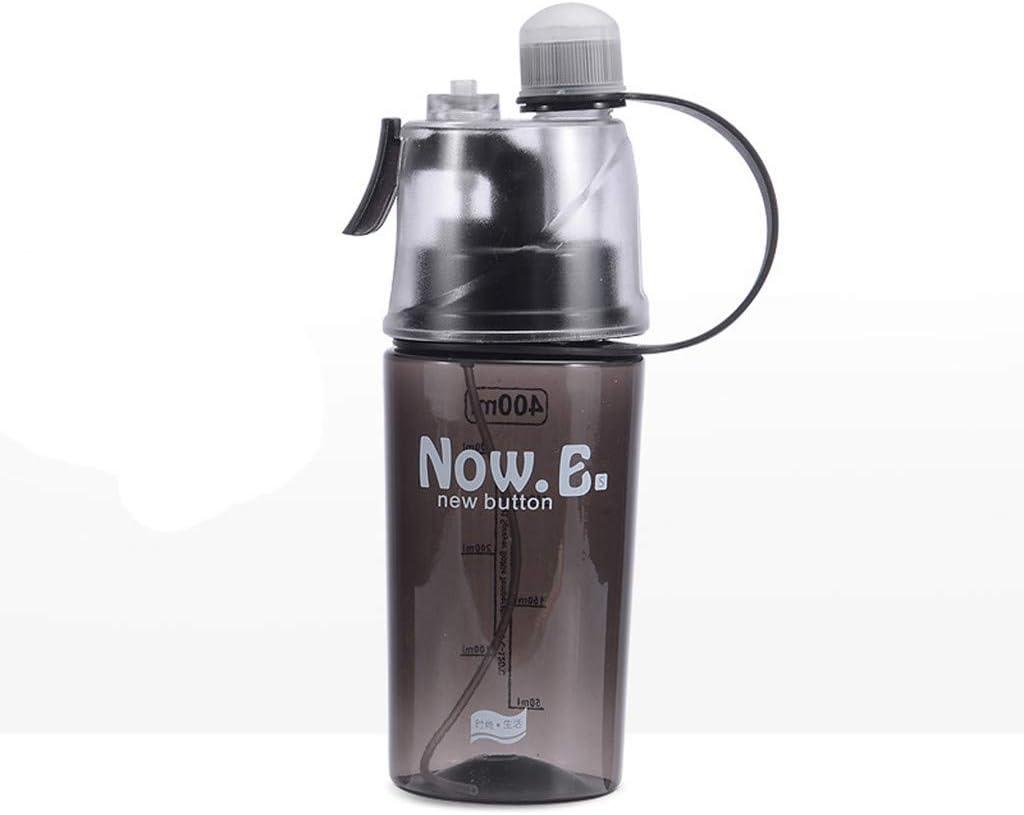 600ML Sport Cycling Mist Spray Water Gym Beach Bottle Leak-proof Drinking Cup