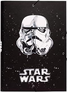 Erik® - Chemise Cartonnée A4 Star Wars Stormtrooper   Chemise à Rabats Rigide   Pochette Cartonnée 24 x 34 cm   Fourniture...