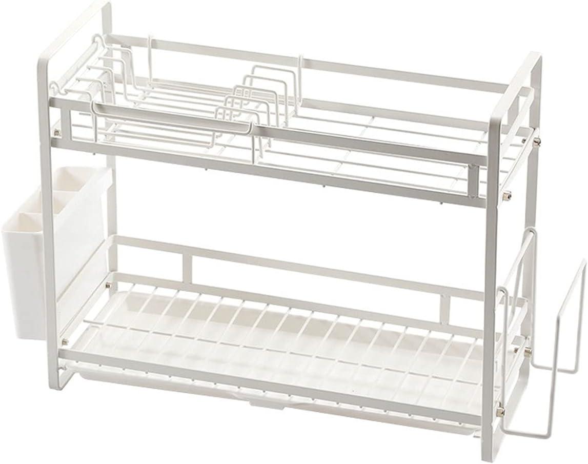 QYYYUNDING Dish Rack Ranking TOP19 2 Tier Popular overseas Shelf Kitchen Countertop for Storage