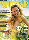 Vanity Fair Magazine July 2000 Renee Zellweger