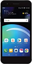 LG Phoenix 4 AT&T Prepaid Smartphone with 16GB, 4G LTE, Android 7.1 OS, 8MP + 5MP Cameras - Black (Renewed)
