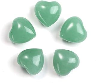 Jovivi - Lote de 5 piedras naturales pequeñas, piedras preciosas, cuarzo, piedras de chakra, reiki, Feng, Shui tibetano, b...