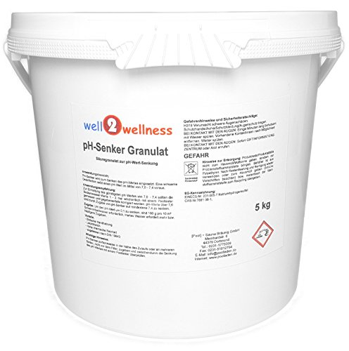well2wellness pH-Senker Granulat 5,0 kg