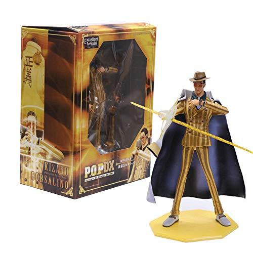 Rrfay 26 cm Anime One Piece P O P Almirante Marino Borsalino PVC Figura de acción Colección Modelo Muñeca Juguetes