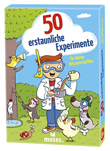 moses. 50 erstaunliche Experimente für kleine Wissenschaftler | Kinderbeschäftigung | Kartenset