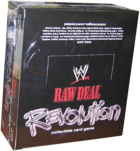 Raw Deal Kartenspiel WWE Revolution Booster Box 24p11