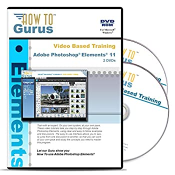 Adobe Photoshop Elements 11 Training 2 DVDs Over 13 Hours in 229 Video Lessons - Computer Software Tutorials