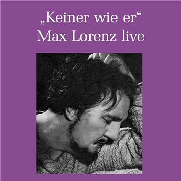 Max Lorenz - Keiner war wie er (Live)