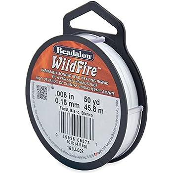 ビーダロン ワイルドファイアー ビーディングスレッド フロスト(Beadalon WildFire ビーズ用糸) (161U-008)