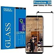 Panzerglas Schutzfolie für Samsung Galaxy S8 Plus, Hohe Qualität 3D Displayschutzfolie/Einfache Installation/Anti-Fingerabdruck /Ultra Klar/Anti-Kratzer/ Gehärtetes Glas Panzerglas Folie für Samsung Galaxy S8 Plus