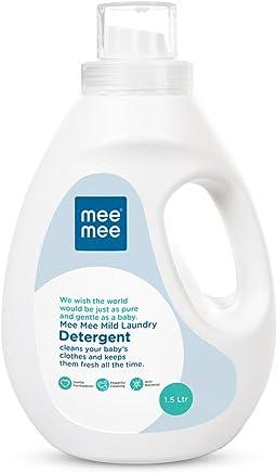 Mee Mee Mild Baby Liquid Laundry Detergent, 1.5L