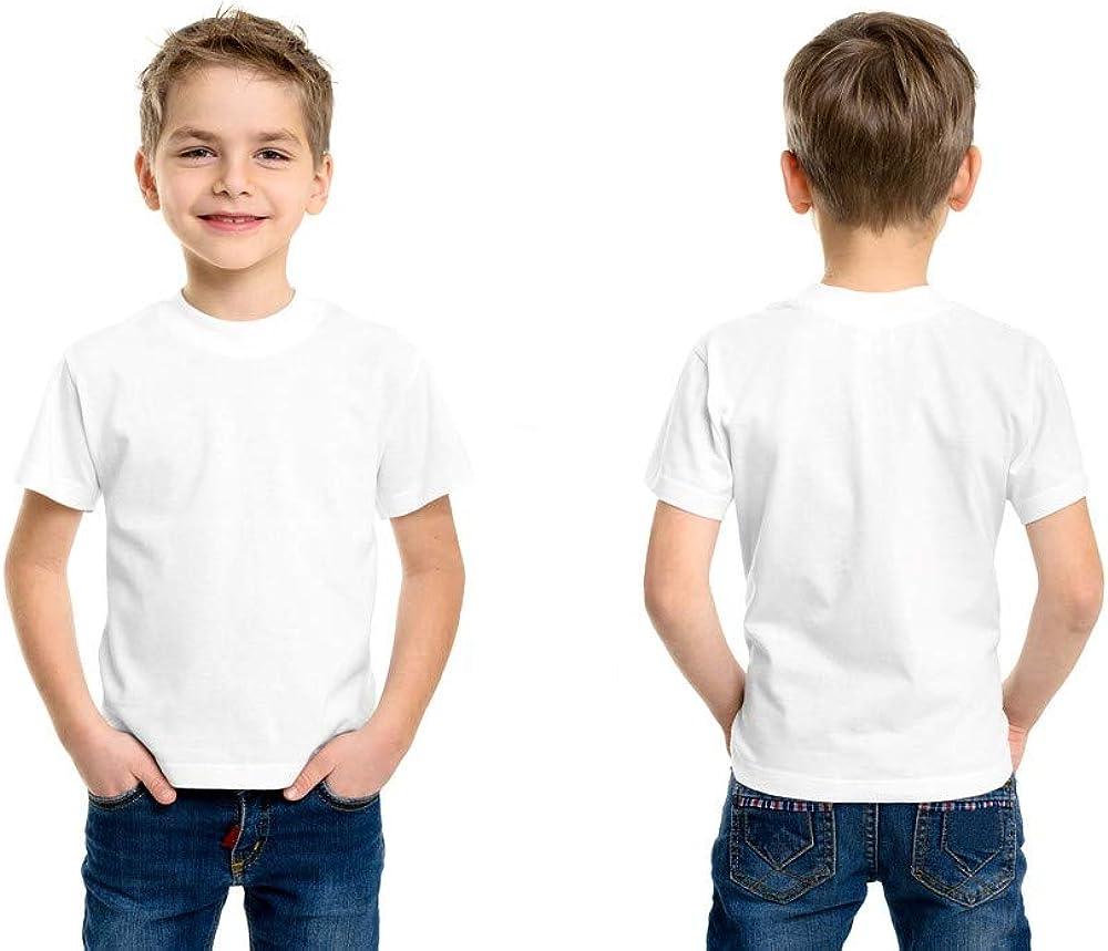 Andrew Scott Boys' Cotton Crew Neck T Shirt Undershirts - Bonus Pack of 18