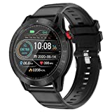 Smart Watch Fitness Tracker with Blood Pressure Heart Rate Sleep Monitor Multisport GPS Running Watch for Man Woman, Smartwatch for Android iOS Phone Full-Screen Touch IP68 Waterproof Watch