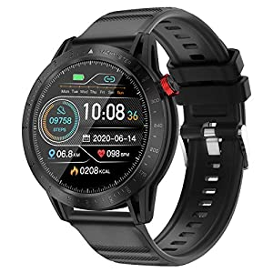 Smart Watch Fitness Tracker with Blood Pressure Heart Rate Sleep Monitor Multisport GPS Running Watch for Man Woman…